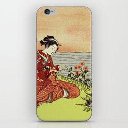 Transformation of Kikujido - Vintage Japanese Woodblock iPhone Skin