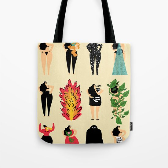 All of us live here Tote Bag