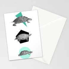 Three Old Turtles Stationery Cards