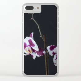ultra violet orchid Clear iPhone Case