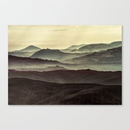 Layers of Toscany Canvas Print