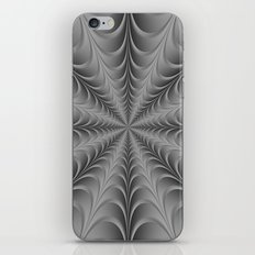 Silver Web iPhone & iPod Skin