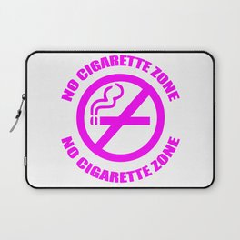 Anti-Cigarette (PINK) Laptop Sleeve