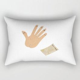 Rules Of Thumb Rectangular Pillow