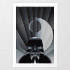 Deco Vader (design size 14x21) Art Print