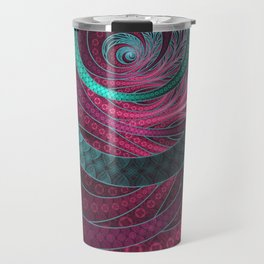 Abstract Bangles of Very Berry Bubblegum Bands Travel Mug