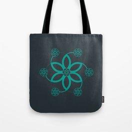 Evolution | Alien crop circle | Sacred geometry Tote Bag