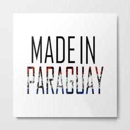Made In Paraguay Metal Print