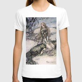 """Arthur Rackham Fairy Art from """"Undine"""" T-shirt"""