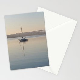 Thames River morning Stationery Cards