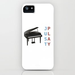 Just Play the Piano iPhone Case