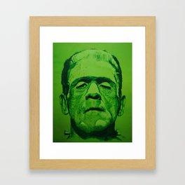 the creature (original) Framed Art Print