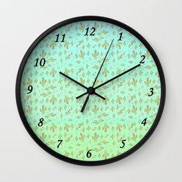 Cactus Boys Wall Clock