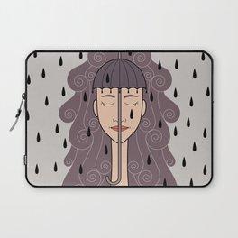 you look like rain Laptop Sleeve