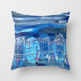 Music Sqaure Throw Pillow
