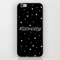 Astronomy Ambigram iPhone & iPod Skin