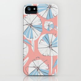 Pink Camila Floral iPhone Case