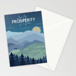 Prosperity Night Stationery Cards