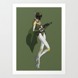 Barbara Fett Art Print