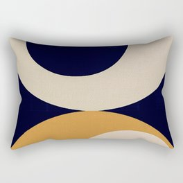 Aimlessly in Circles - Tear Rectangular Pillow