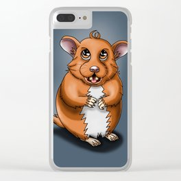 Hamster Clear iPhone Case