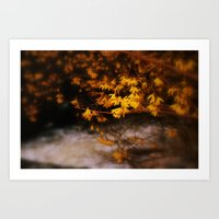 A Spring In Spring Art Print