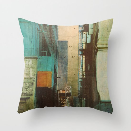 ESCAPE ROUTE Throw Pillow