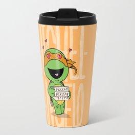 TMNT: Michelangelo (Cute & Dangerous) Travel Mug