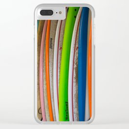 Surfboards For Rent Clear iPhone Case