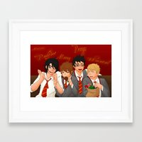 marauders Framed Art Prints featuring Marauders by Panjiren Art