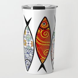 Sardines 5 colour Travel Mug