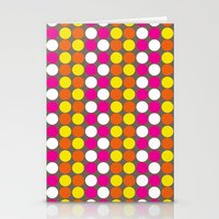 polka dots Stationery Cards featuring polka dots by nandita singh