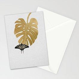 Butterfly & Monstera Stationery Cards