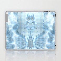 Turquoise Diamond Matrix Laptop & iPad Skin