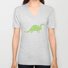 Thesaurus Unisex V-Neck