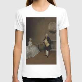 Arthur Devis - Mr. and Mrs. Hill (1751) T-shirt