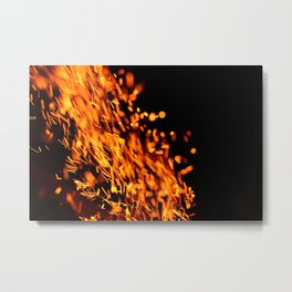 fireflames Metal Print