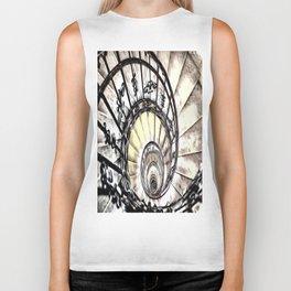 The Spiral Staircase Biker Tank