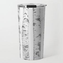 Birch Trees | Forest Landscape Photography Minimalism Travel Mug