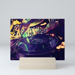 At Nightclub Mini Art Print