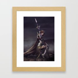 Queen of thorns Framed Art Print