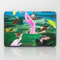 thrones iPad Cases featuring Do androids dream of electric sheep? by Laura Nadeszhda