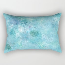 Blue Galaxy Rectangular Pillow