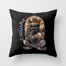 Caguana Throw Pillow