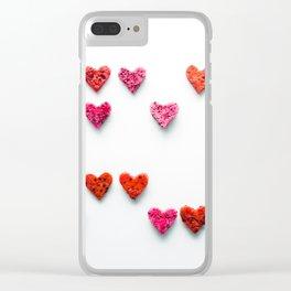 hearts #society6 #decor #buyart Clear iPhone Case