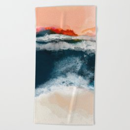 water world Beach Towel