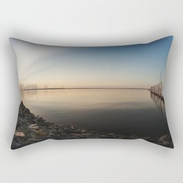 Sunrise Over the St. John's River Rectangular Pillow
