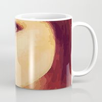 caleb troy Mugs featuring Ellen of Troy by iArtMike