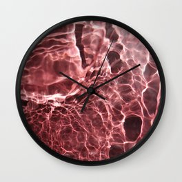 Strawberry Full Moon Wall Clock