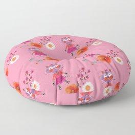 Mademoiselle Pink Floor Pillow